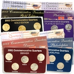 2002 Quarter Mania Uncirculated Set - Standard (4 Sets)